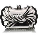 FASHION ONLY Luxusní stříbrné společenské psaníčko LSE00274
