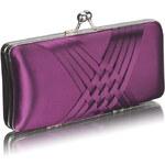 FASHION ONLY elegantní psaníčko na ples fialové