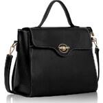 FASHION ONLY Dámská kabelka černá elegance