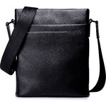 Pánská kožená taška přes rameno Sammons Small černá