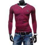 Hoody Pánské tričko - červená Velikost: XL