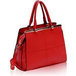 LS fashion LS dámská kabelka 197 červená