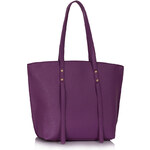 LS fashion LS dámská kabelka 00335 na rameno fialová