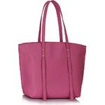 LS fashion LS dámská kabelka 00335 na rameno růžová
