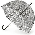 Průhledný deštník Fulton BIRDCAGE-2 - DAMASK