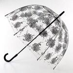Průhledný deštník fulton BIRDCAGE-2 - FLORA