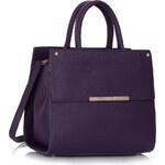 LS fashion LS dámská kabelka 230B fialová
