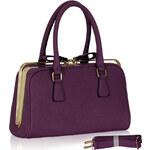 LS fashion LS dámská kabelka 311 fialová