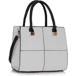 LS fashion LS dámská kabelka 153 bílá
