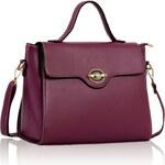 LS fashion LS dámská kabelka 243 fialová