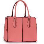 LS fashion LS dámská kabelka 199A růžová