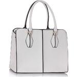 LS fashion LS dámská kabelka 199A bílá