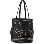 LS fashion LS dámská kabelka - měšec 324 černá