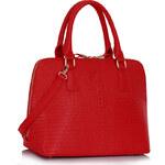 LS fashion LS dámská kabelka 311B červená