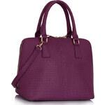 LS fashion LS dámská kabelka 311B fialová