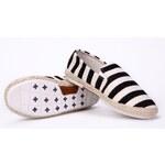 Evercreatures plátěné dámské espadrilky boty černé Velikost: EUR 36