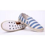 Evercreatures plátěné dámské espadrilky boty modré Velikost: EUR 37