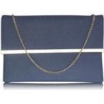 LS fashion LS dámská společenská kabelka LS00279 modrá