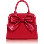 LS FAShion dámská kabelka s mašlí 005A růžová