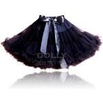Le Petit Tom DOLLY Audrey Hepburn černá PETTI sukně velikost Dolly: XL - xlarge (vel. 38/42, délka sukně 43 cm)