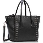 LS Fashion Kabelka LS00208S černá