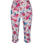 LINDY BOP RETRO DÁMSKÉ Capri kalhoty Kendra růžové Velikost: 36(UK8)
