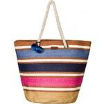 Velká dámská plážová taška přes rameno Roxy Sun Seeker vícebarevná