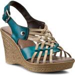 Sandály LANQIER - 32C947 Béžová Modrá
