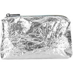 Topshop Metallic Foil Make-Up Bag