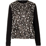 Topshop Printed Fur Sweat by Boutique