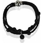 Shamballa náramek černý LS Fashion LSB0057