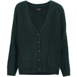 Topshop Knitted Cable Cardigan