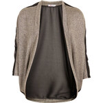 Topshop **Gold Trim Cardigan by Wal G