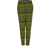 Topshop Bright Aztec Jersey Tapered Trousers