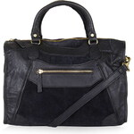 Topshop Suede and Leather Holdall