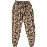 Leopardí harémové kalhoty Animal L