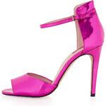 Topshop REBEL Pink Mirror Heels
