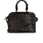 Topshop Studded Leather Holdall Bag