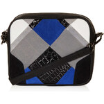 Topshop Leather Patchwork Cross Body Bag