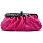 LightInTheBox Shidaili Handmade Gorgeous Silk Evening Bag/Clutches(Fuchsia)