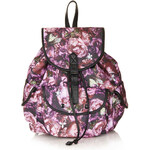 Topshop Peonies Backpack