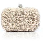 LightInTheBox Shidaili Handmade Elegant Clutch Bag(Champagne)