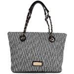 Dámská kabelka Pabia 4521 - černo-bílá
