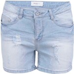 Světle modré džínové kraťasy Vero Moda Brix