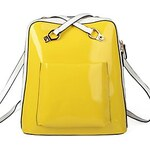 LightInTheBox Fashion PU Casual Candy Color Backpacks
