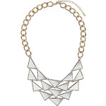 Topshop Mini Mirrored Triangle Necklace