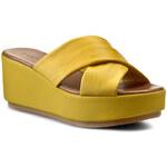 Nazouváky INUOVO - Mariska 5024 Yellow Leather