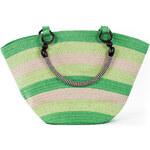 Art of Polo Dámská taška beach bag stripes - zelená tr15132.4