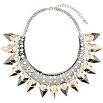 Topshop Geo Cut Out Collar