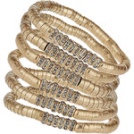 Topshop Premium Chain Stretch Bracelet